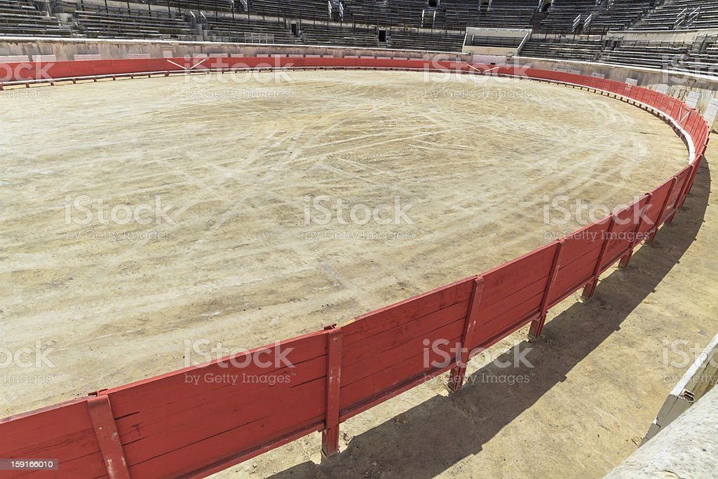 Bull Fighting Arena Nimes (Roman Amphitheater), France royalty-free stock photo