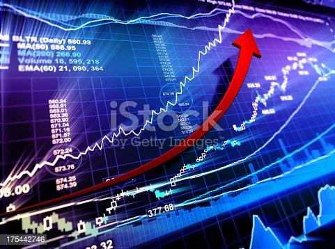 istock Bull Market - Financial Data 175442746