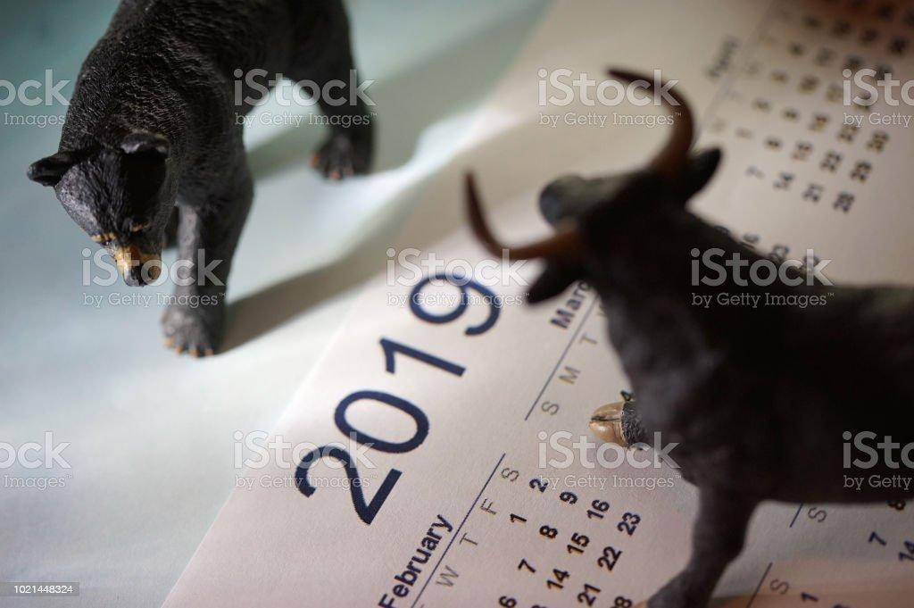 bull market royalty-free stock photo