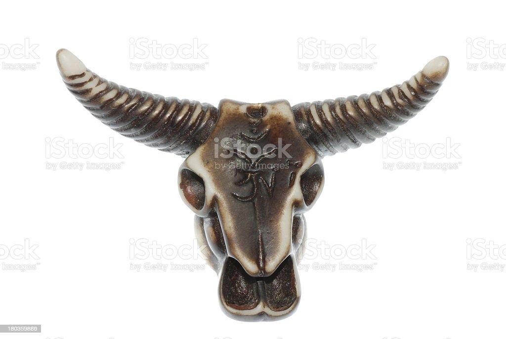 bull skull royalty-free stock photo
