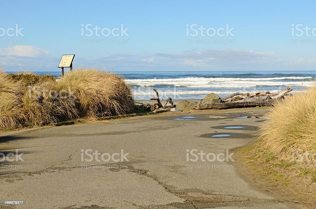 Bullards Beach stock photo