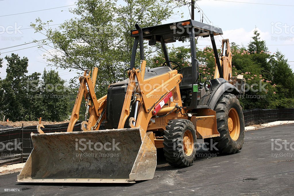 Bulldozer 2 royalty-free stock photo