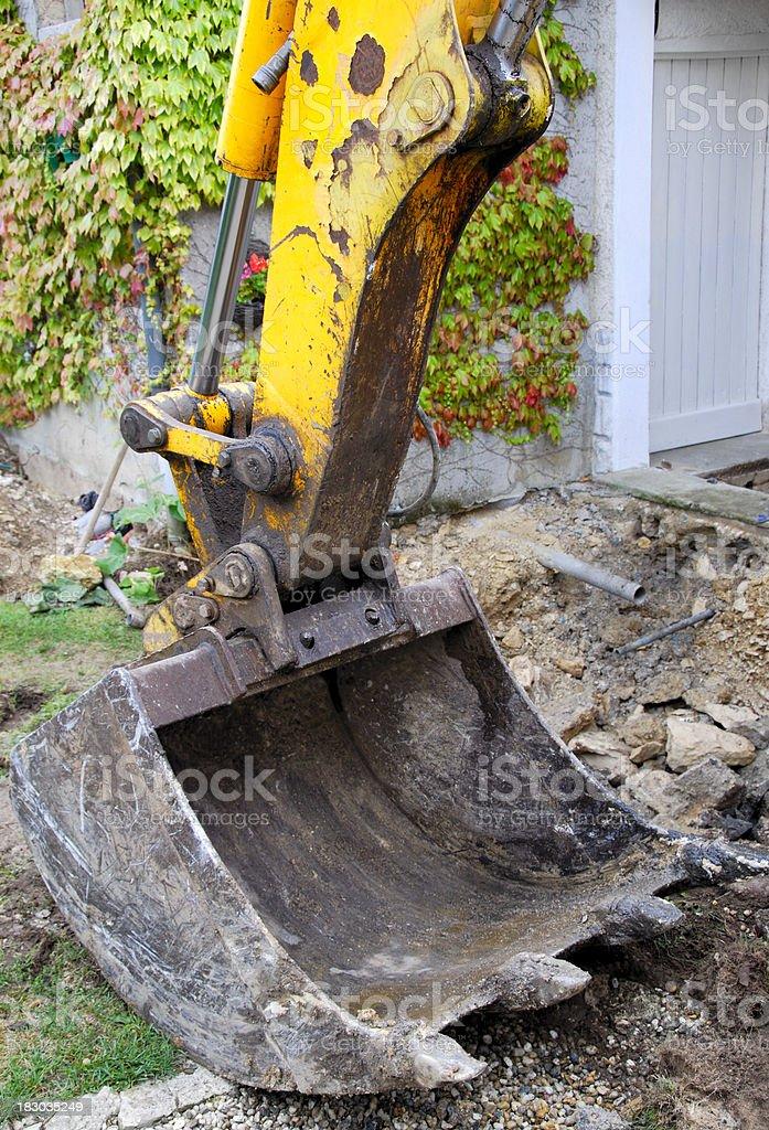 Bulldozer  Bucket royalty-free stock photo