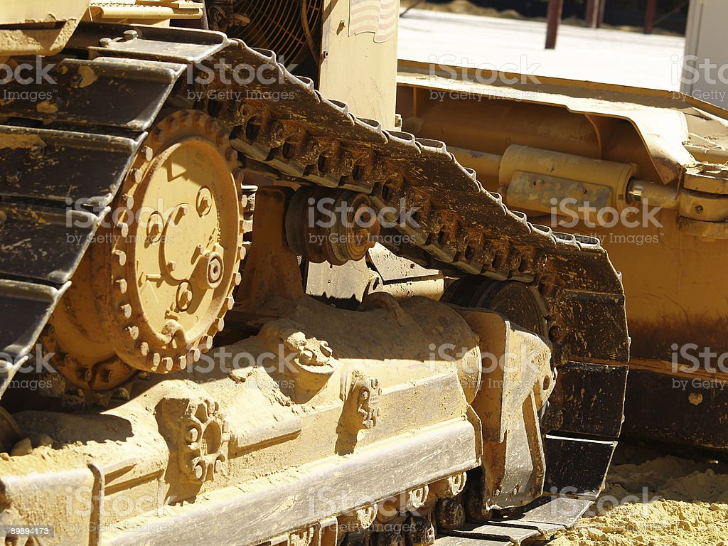 Bulldozer Detail 2 royalty-free stock photo