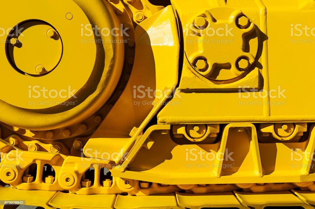 Bulldozer drive Ausrüstung – Foto