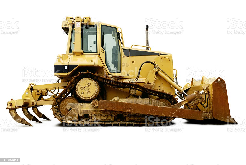 Bulldozer royalty-free stock photo