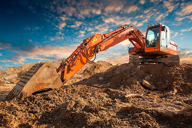 Bulldozer Bulldozer construction machinery stock pictures, royalty-free photos & images