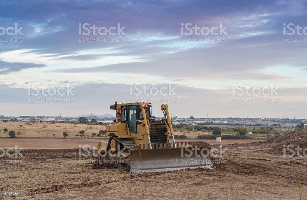 Máquina excavadora  - foto de stock