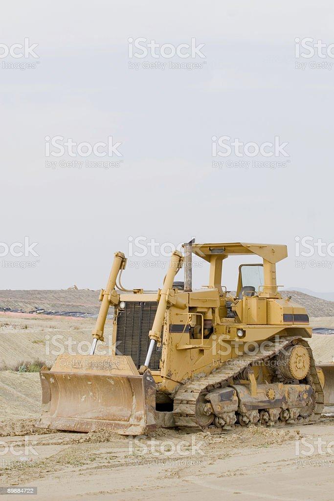 Bulldozer Lizenzfreies stock-foto
