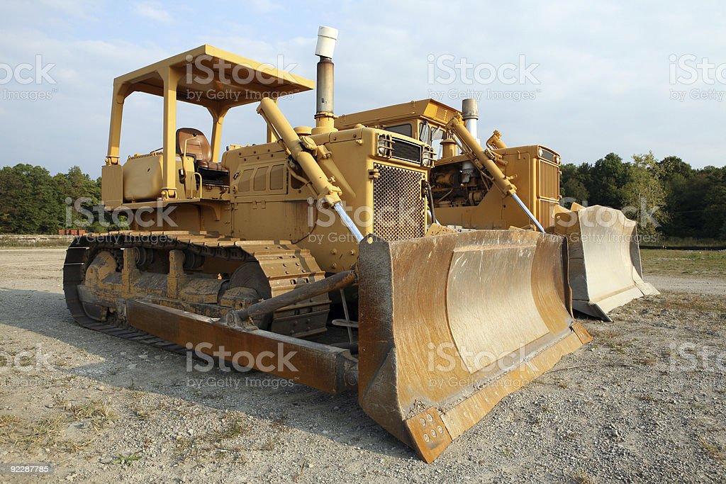 Bulldozers! stock photo