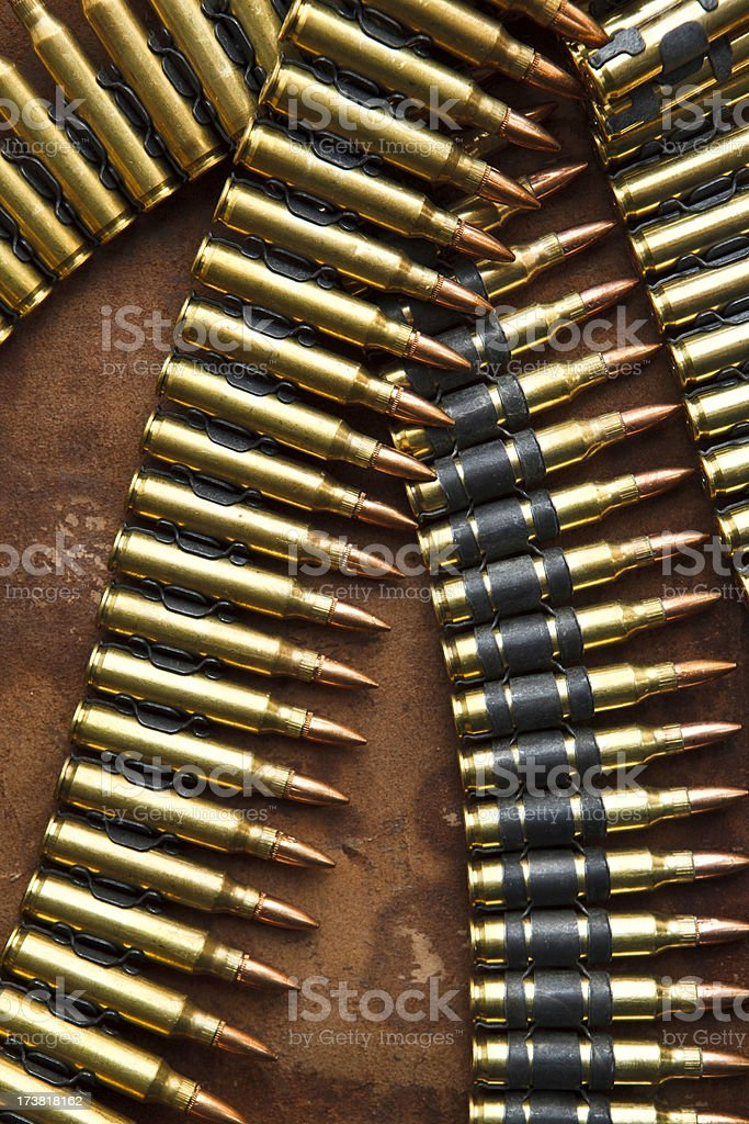 bullet belt royalty-free stock photo