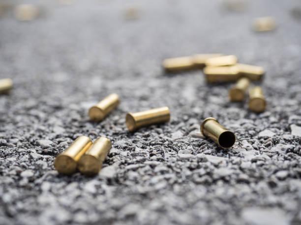 Bullet genau aufeinander – Foto
