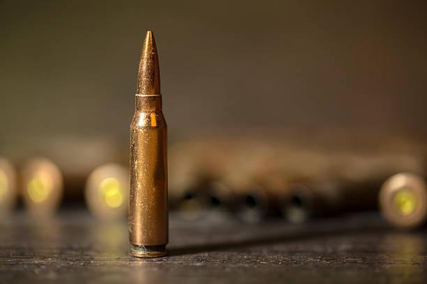 bullet, close up stock photo