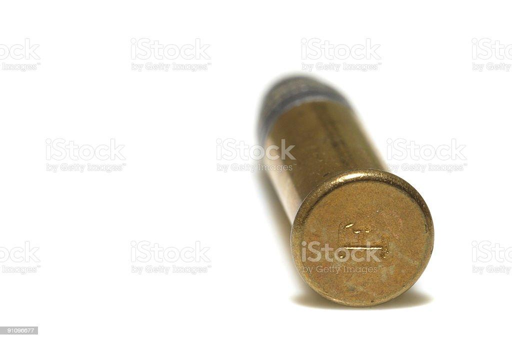 bullet f royalty-free stock photo