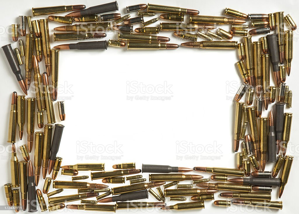 bullet frame stock photo