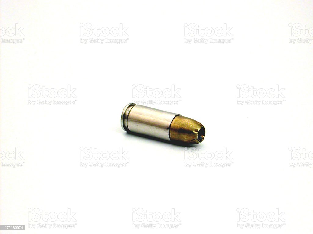 bullet (single) stock photo