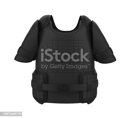 istock Bullet Proof Vest Isolated 1067349176