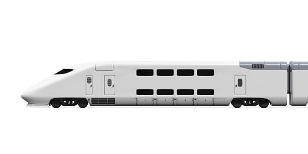 shinkansen isoliert - hochgeschwindigkeitszug stock-fotos und bilder