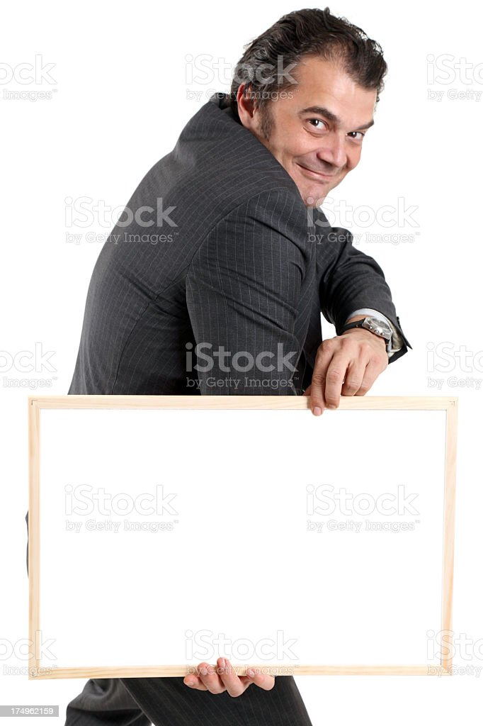 Bulletin board royalty-free stock photo
