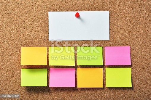 istock Bulletin board 641973292