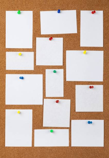 bulletin board. - bulletin board stock pictures, royalty-free photos & images