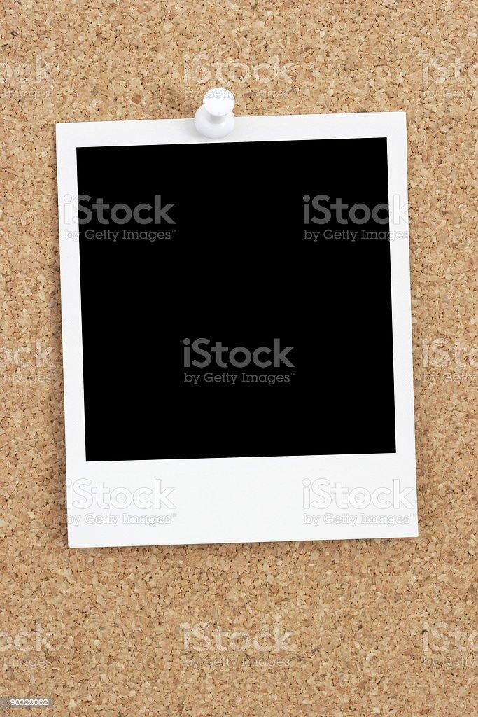 Bulletin Board Snapshot royalty-free stock photo