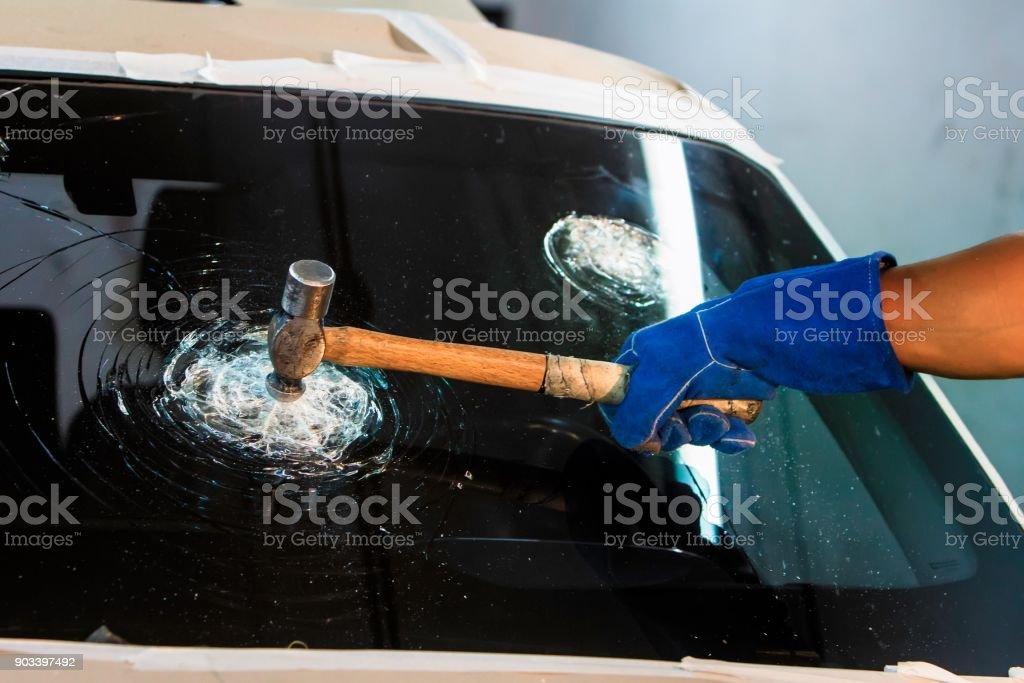 Kugelsicheres Glas – Foto