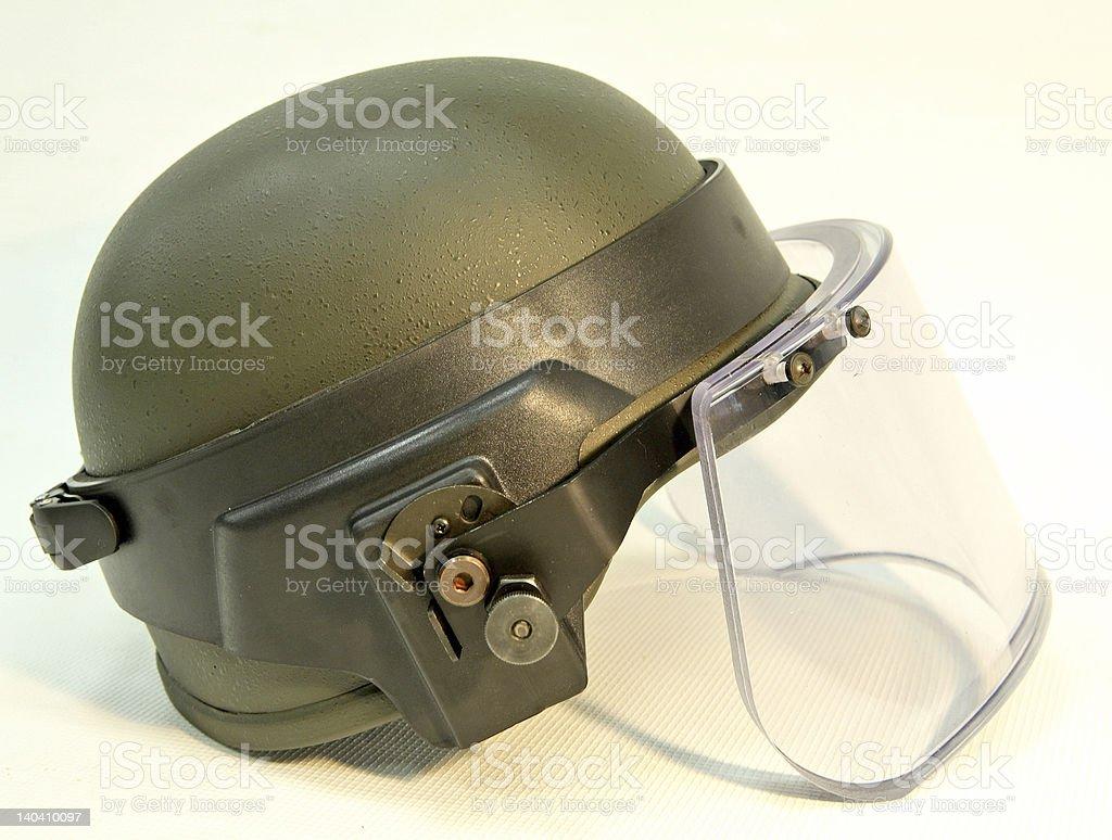 bullet-proof helmet royalty-free stock photo