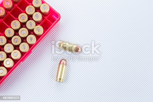 istock Bullets .45 ACP 492865325