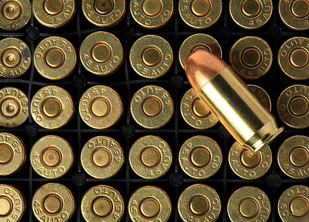 Bullets pattern Bullets pattern ammunition stock pictures, royalty-free photos & images
