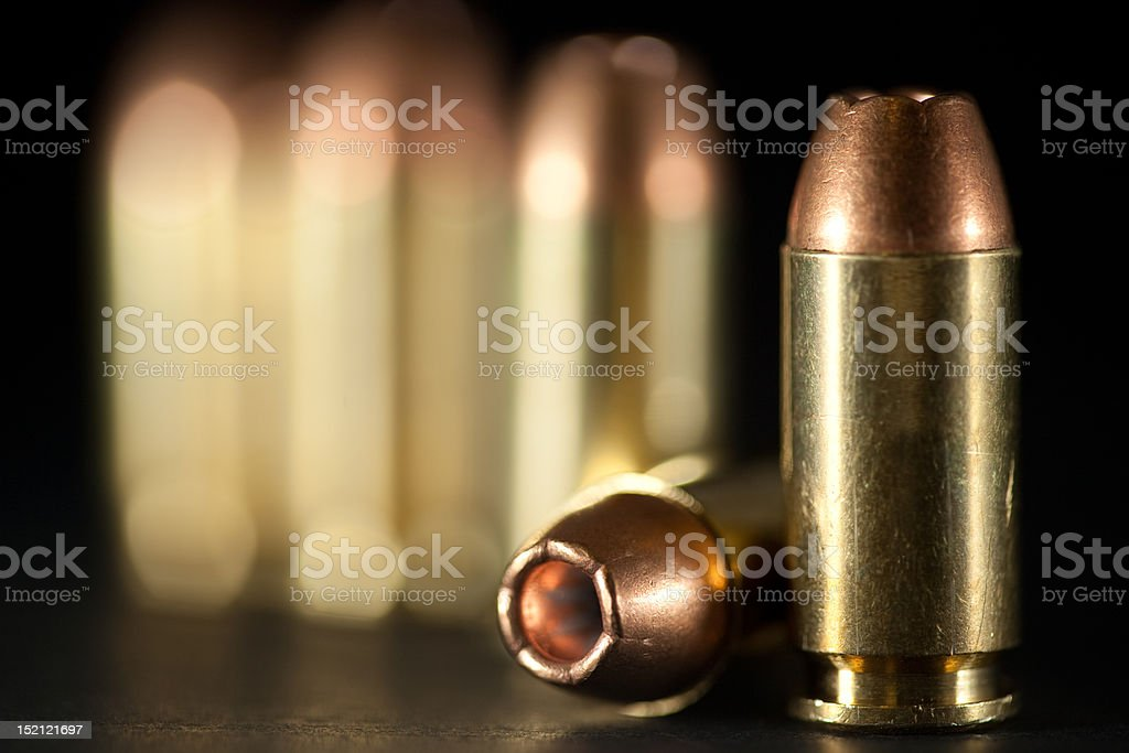 bullets stock photo