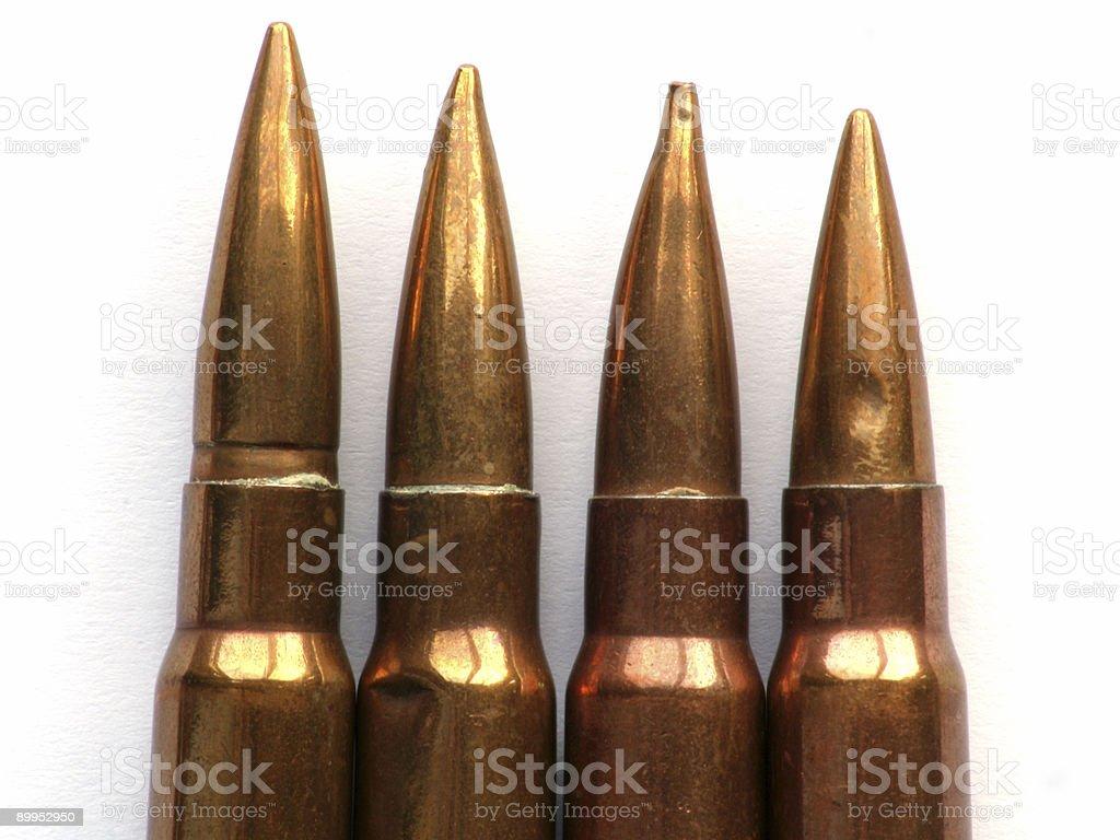 Bullets (1) stock photo