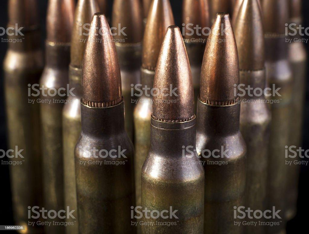Bullets Triangle royalty-free stock photo