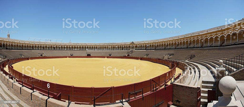 Bullfight royalty-free stock photo