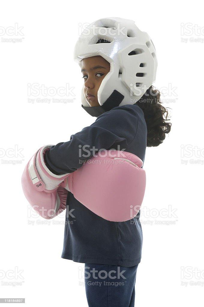 Bullies beware stock photo