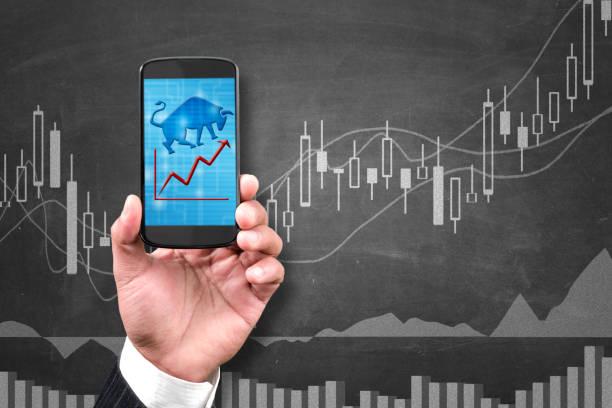 Bullish market stock photo