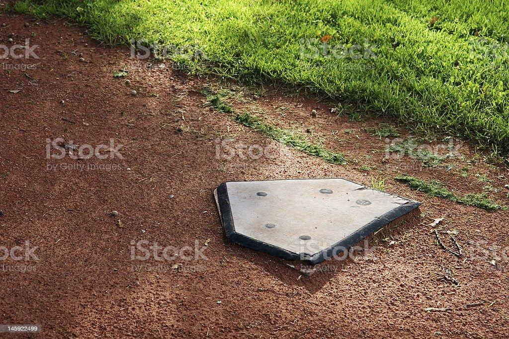 bullpen home base stock photo