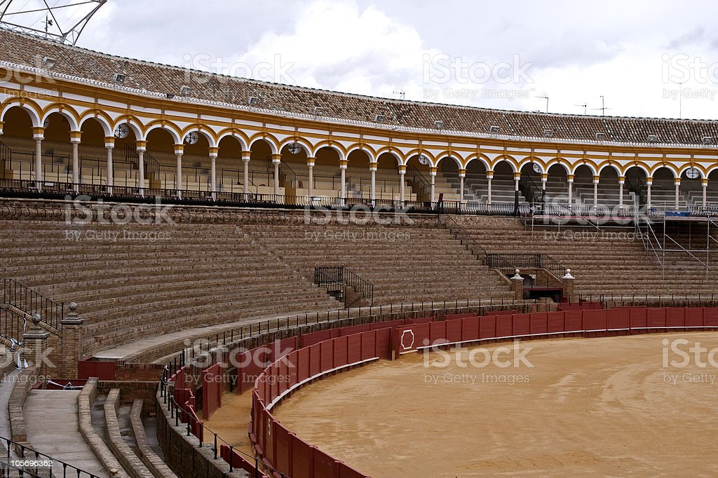 Bullring, Seville royalty-free stock photo