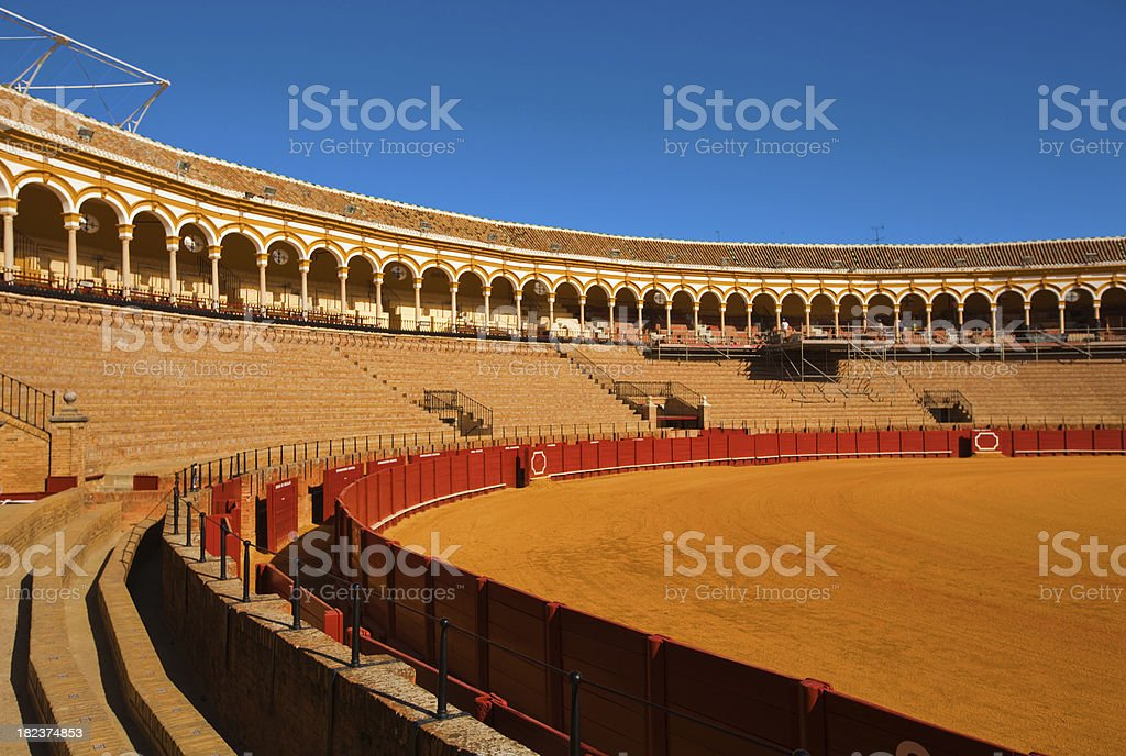 bullring - seville royalty-free stock photo