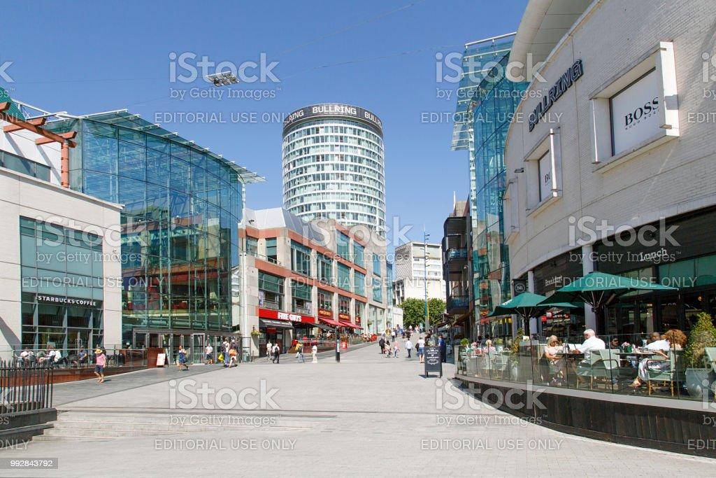 Bullring Shopping Centre - Birmingham stock photo