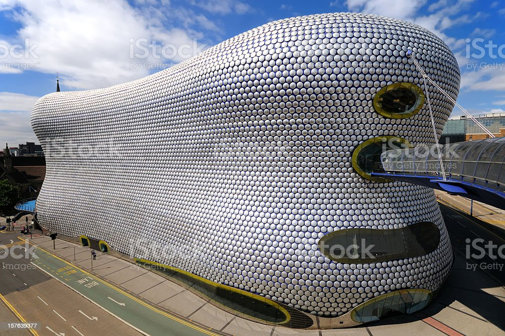 Bullring Shopping Centre royalty-free stock photo