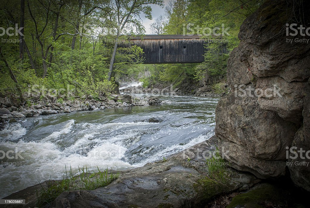 Bulls Bridge, Kent CT stock photo
