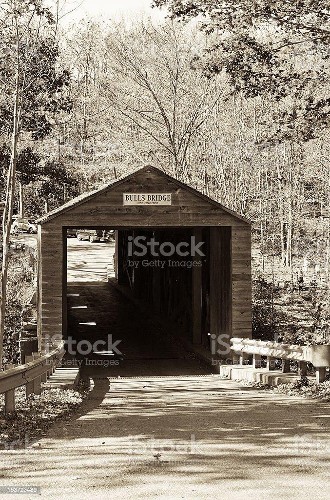 Bull's Bridge stock photo