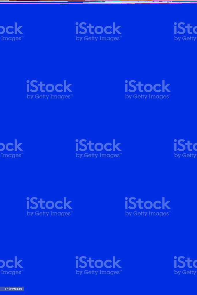 Bull's eye on brick wall royalty-free stock photo