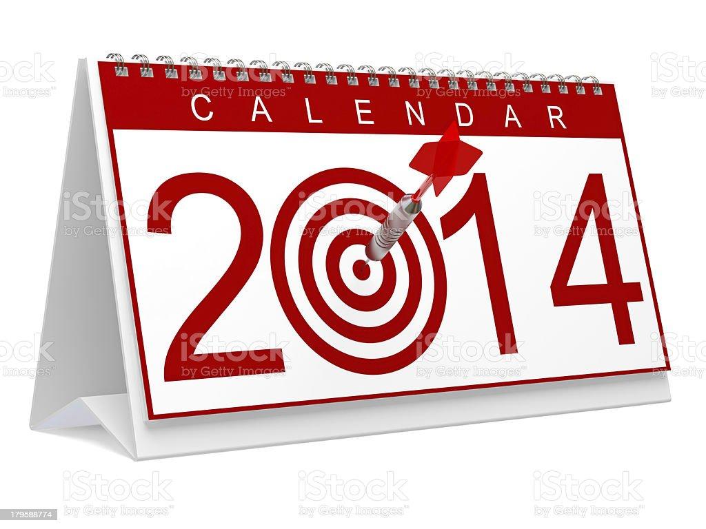 Bullseye 2014 royalty-free stock photo