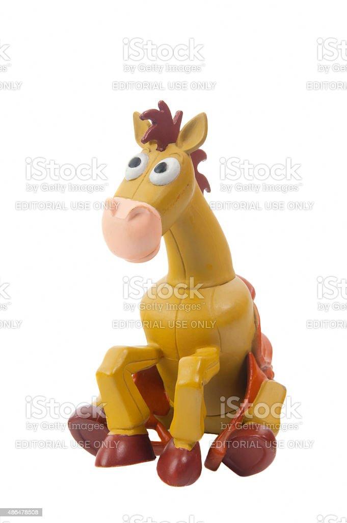 Bullseye figurine stock photo