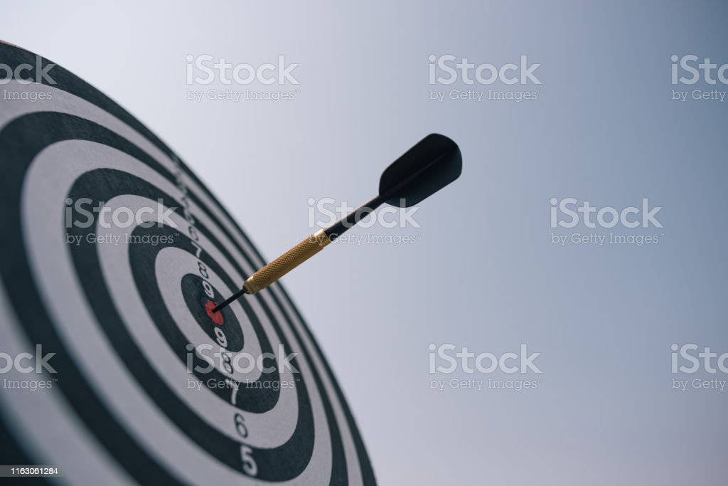 Bullseye is a target of business. Dart is an opportunity and...