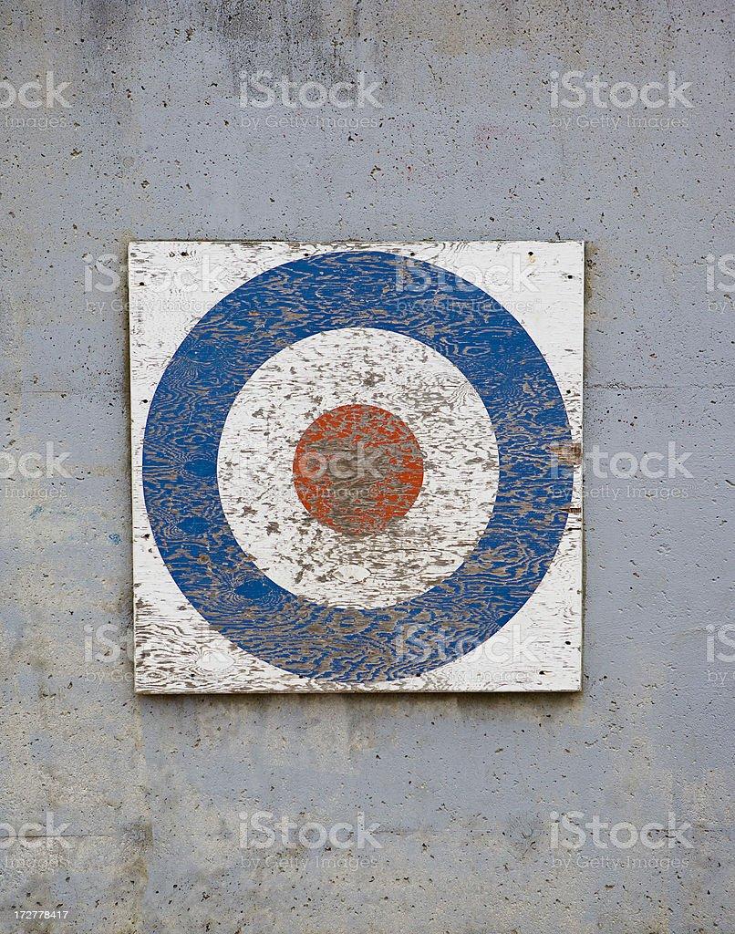 Bullseye! royalty-free stock photo