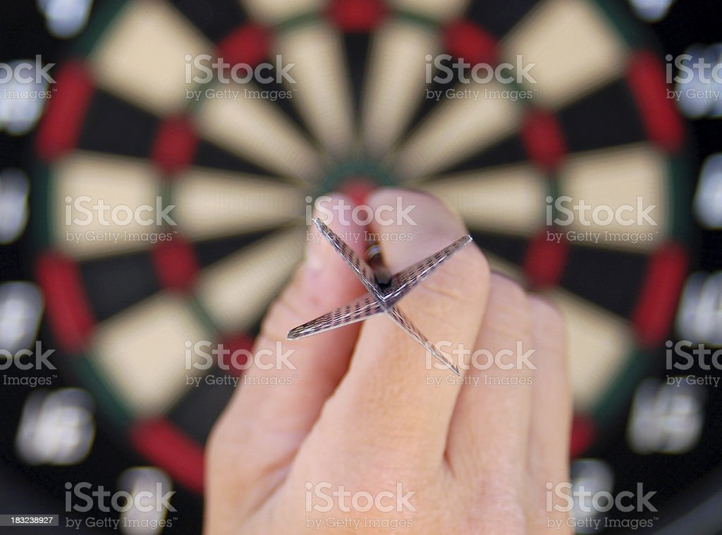 bullseye stock photo