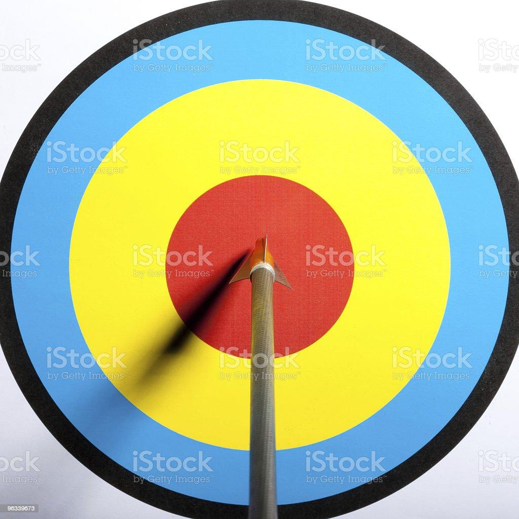 Bullseye royalty-free stock photo
